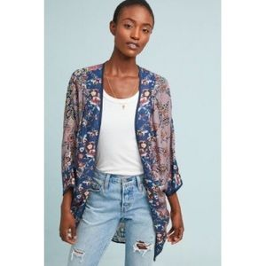 ⭐️NWT Anthropologie Mahila Paulina Kimono One Size